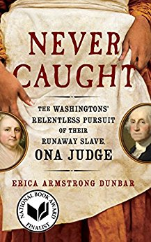 Book cover: Never Caught