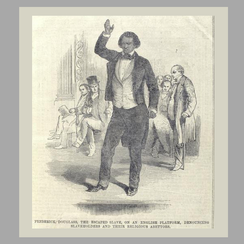 Frederick Douglass Speaking